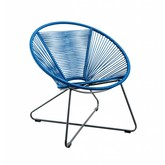 SUNS tuinmeubelen Moni | loungestoel | blauw