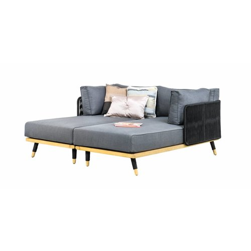 SUNS tuinmeubelen Delphi loungeset 5 | Daybed