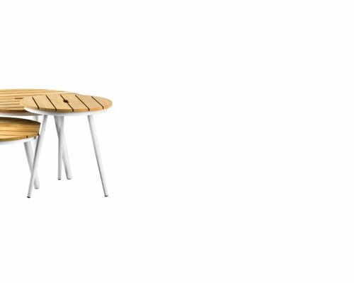Redondo tafel rond 44x44   Teak top