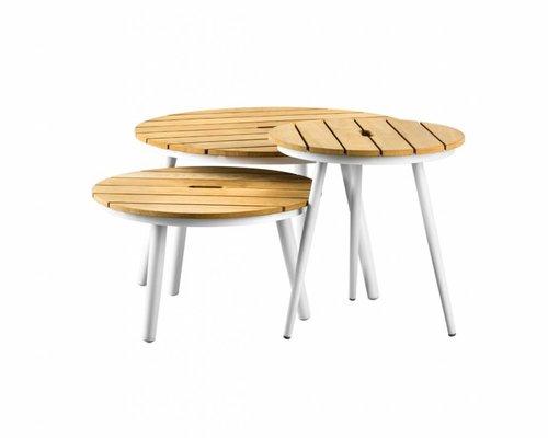 Redondo tafel rond 50x50 | Teak top