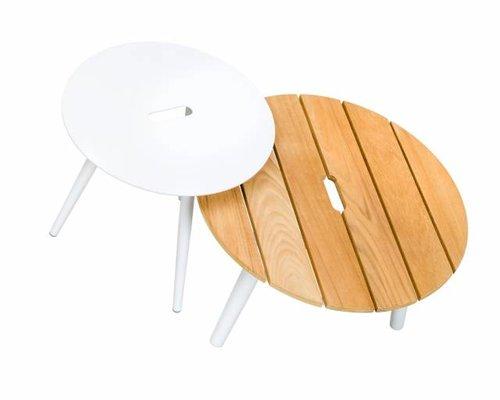 Redondo tafel rond 60x35 | Teak top