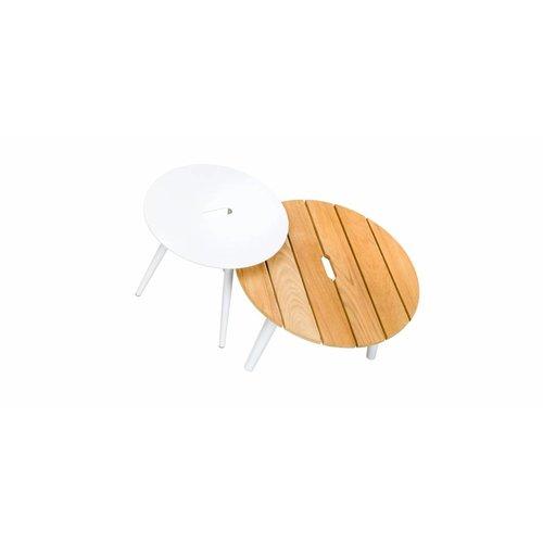 SUNS tuinmeubelen Redondo tafel rond 60x35 | Teak top