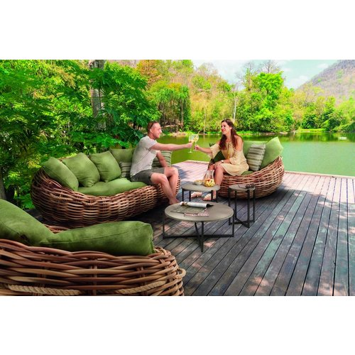Apple Bee tuinmeubelen Cocoon Loungeset | Opstelling 1