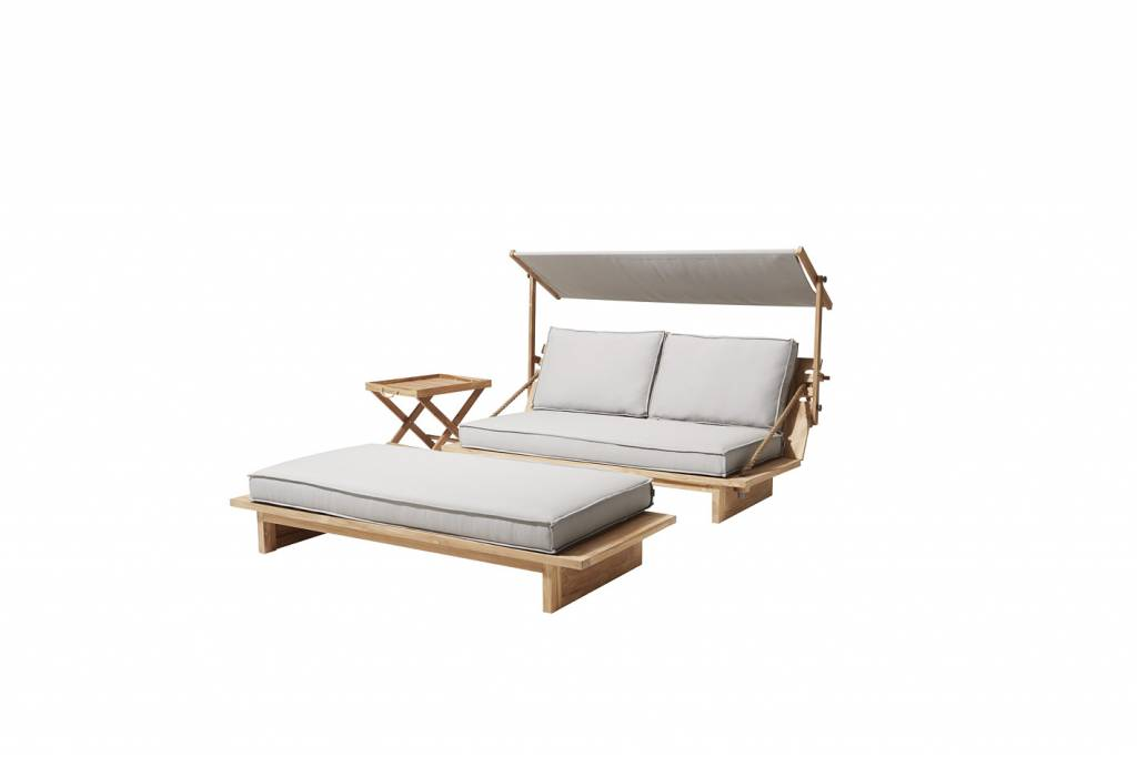 Apple Bee tuinmeubelen Loungebed 3-in-1 Robinson | Apple Bee