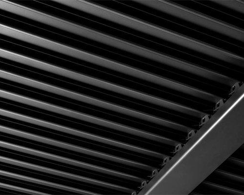 Maranza straight | Terrasoverkapping | Mat grijs | 360x350cm