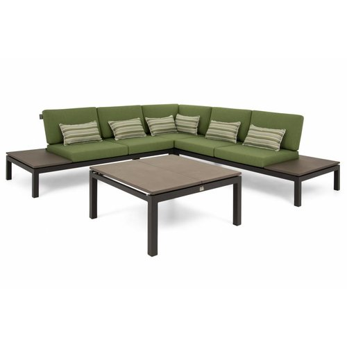 Apple Bee tuinmeubelen Pebble Beach concrete loungeset