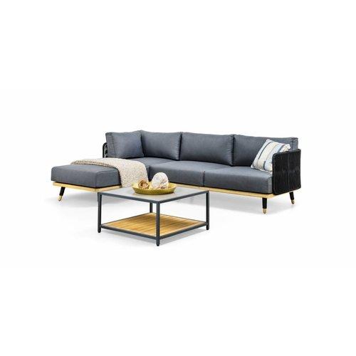 SUNS tuinmeubelen Delphi loungeset | chaise longue
