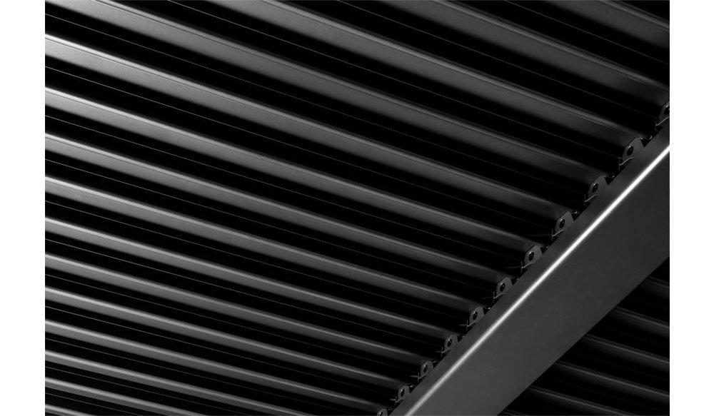 Maranza | Terrasoverkapping | Mat grijs | 720x350x230