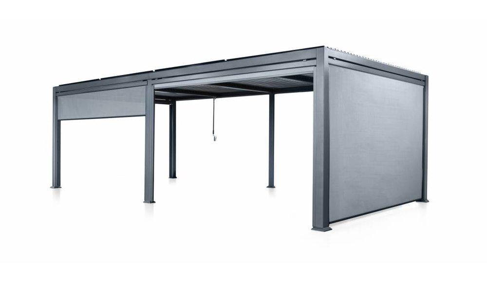 Maranza gordijnen | Mat grijs | 335 cm