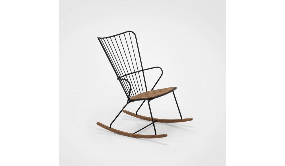 Paon schommelstoel Black