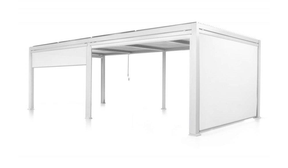 Maranza gordijnen | Mat Wit | 340 cm