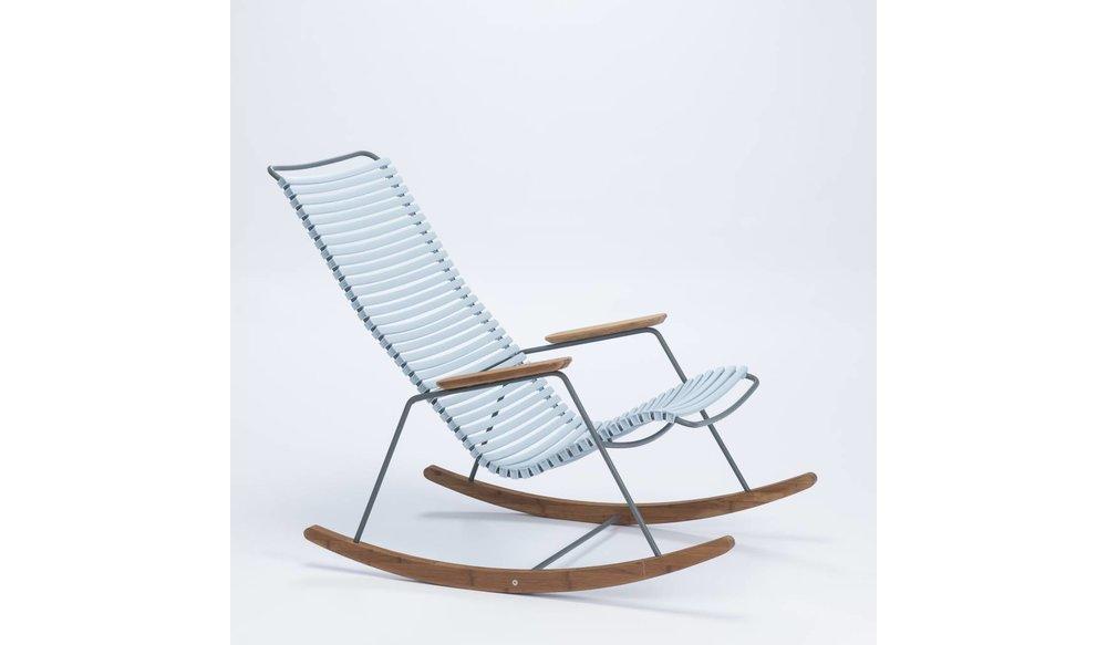 Click schommelstoel | Dusty Blue