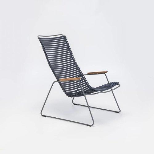 HOUE tuinmeubelen Click loungestoel | Dark Blue