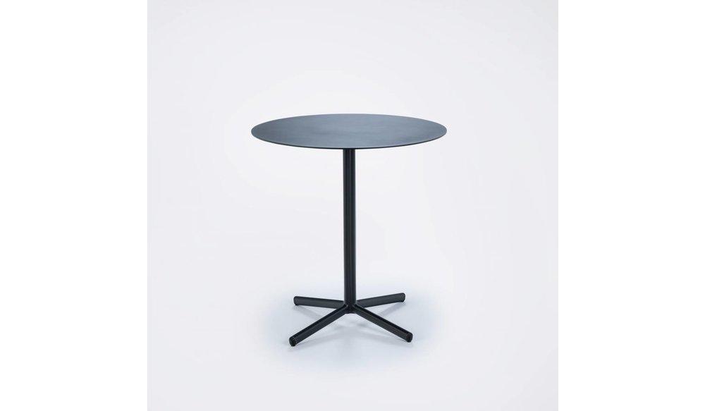 Flor cafe tuintafel ⌀ 60 cm   Zwart