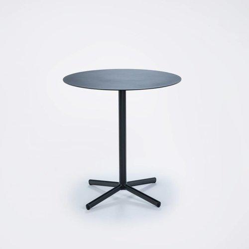 HOUE tuinmeubelen Flor cafe tuintafel ⌀ 60 cm | Zwart