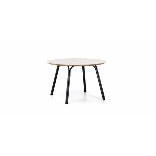 SUNS tuinmeubelen Simi | dining tuintafel | Ø 120 cm | superstone tafelblad