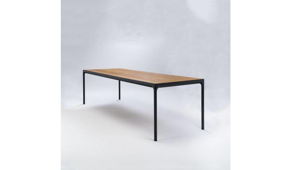 Four tuintafel 270 x 90 cm | Zwart aluminium