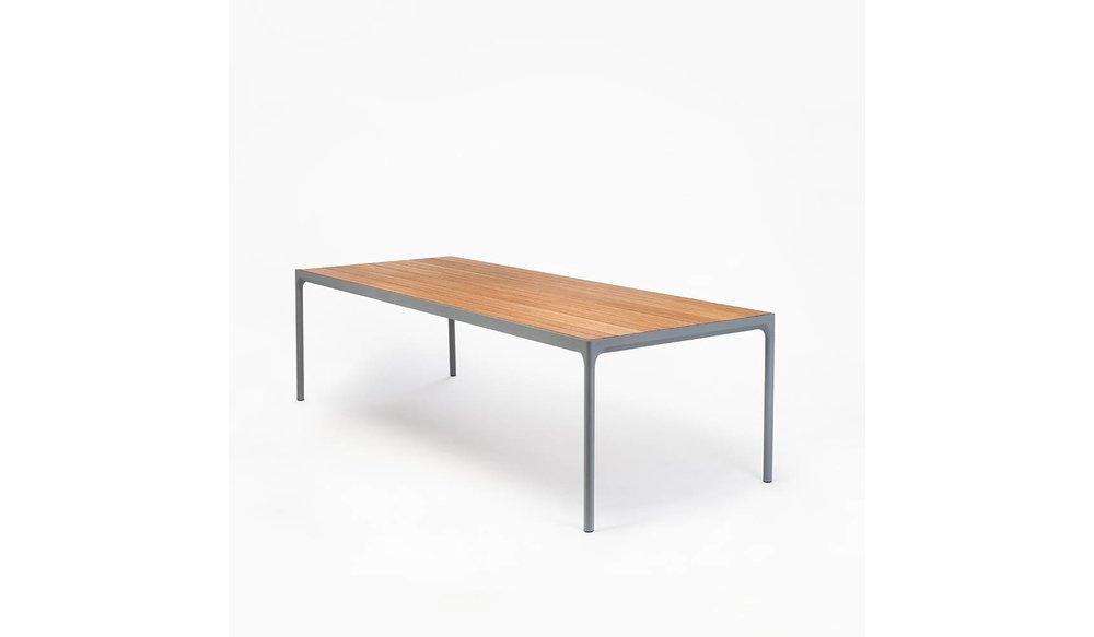Four tuintafel 210 x 90 cm   Grijs aluminium
