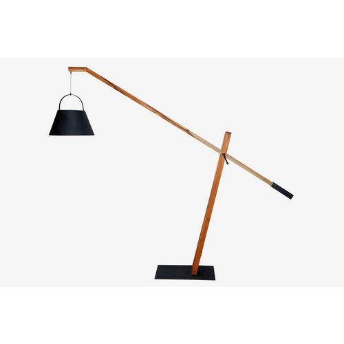 SUNS tuinmeubelen Jane | Lamp | Teak-Aluminium | Mat Royal Grijs