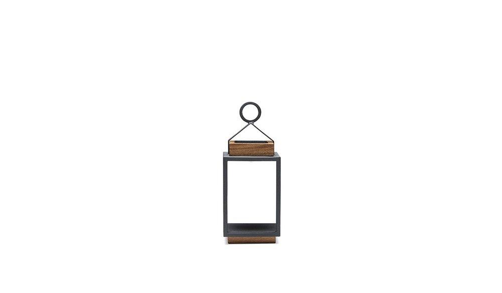 Coco   Lamp S   Mat Royal Grijs