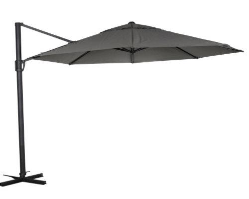 Linz zweefparasol | 300 cm | Zwart frame