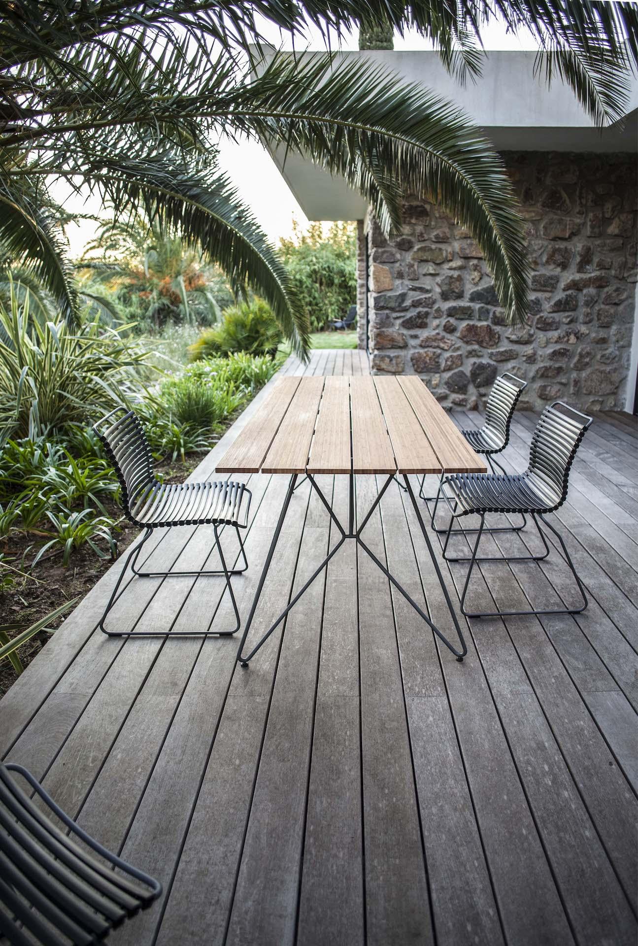 Bamboe hout tafel
