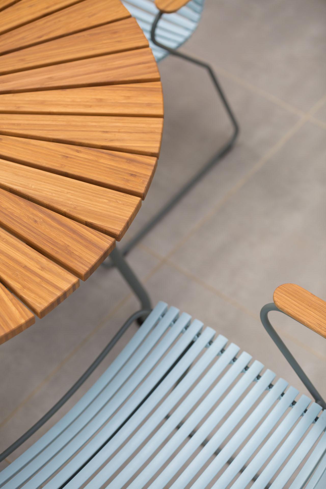 Bamboe hout cirkel
