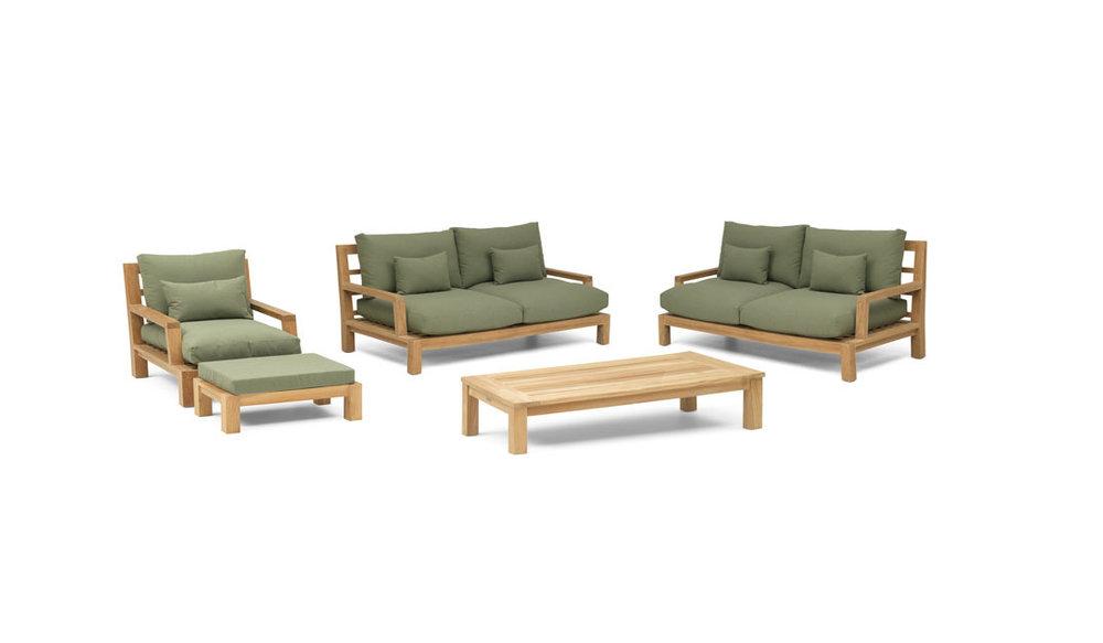 Daylounge loungeset | Opstelling 2