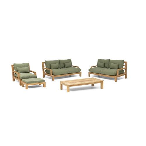 Garden Teak Loungeset | Day lounge | Set 2