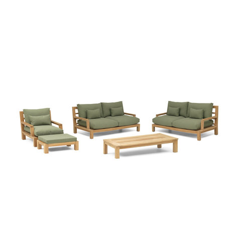 Garden Teak Loungeset | Daylounge | Set 2