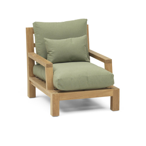 Garden Teak Loungestoel Day Lounge | Type plof