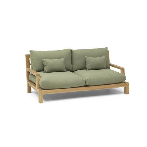 Garden Teak Lounge bank Day lounge | Type plof kussen