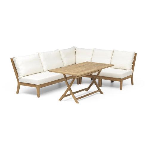 Wolfwood Porto lounge-diningset | Opstelling 2