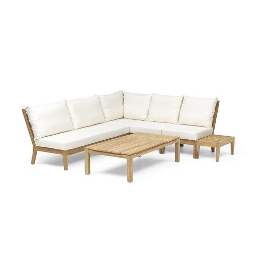Wolfwood Porto lounge-dining set | Opstelling 4