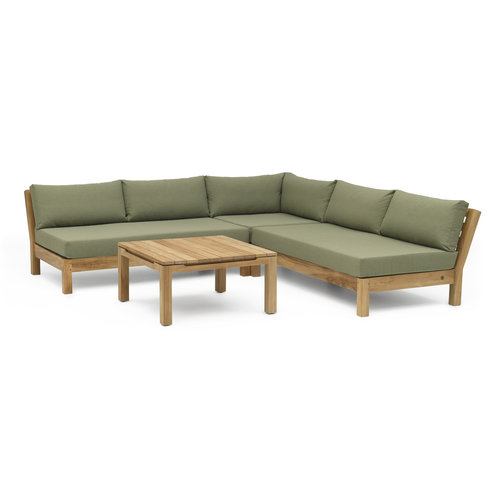 Wolfwood tuinmeubelen Coffee Bay Loungeset | Opstelling 9