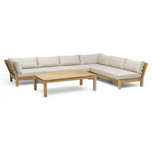 Wolfwood tuinmeubelen Coffee Bay Loungeset | Opstelling 11
