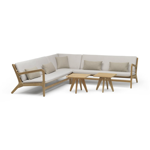 Wolfwood tuinmeubelen Norden loungeset | Opstelling 2