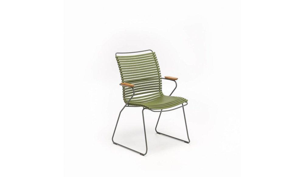 Click tuinstoel | Olive Green
