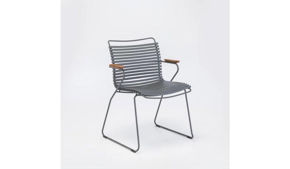 Click tuinstoel - Dark Grey