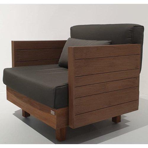Apple Bee tuinmeubelen Module X loungestoel