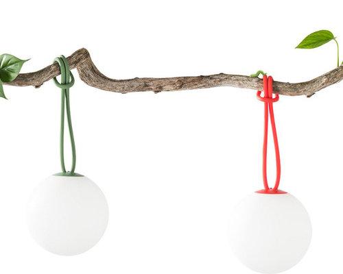 Bolleke hanglamp   Groen
