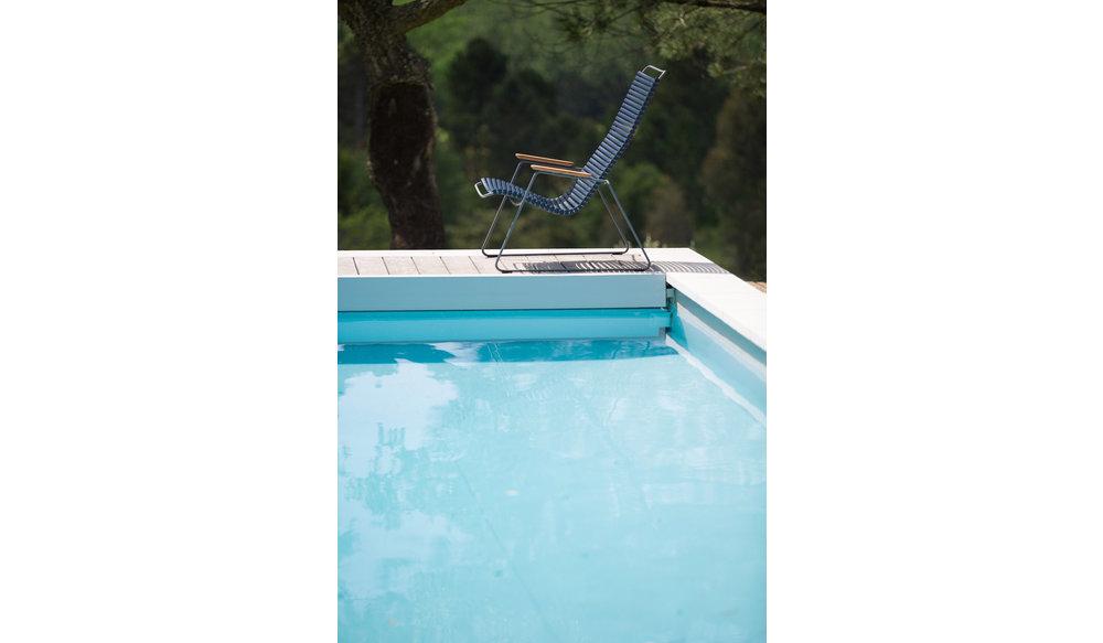 Click loungestoel | Dark Blue