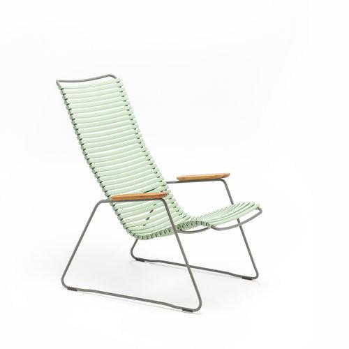 HOUE Click loungestoel | Dusty Green