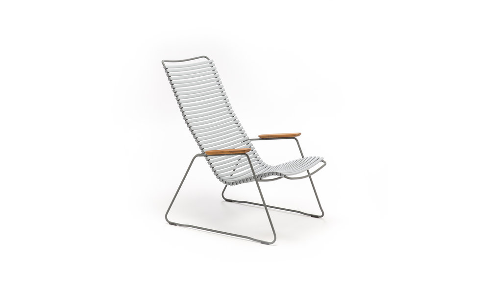 Click loungestoel | Grey