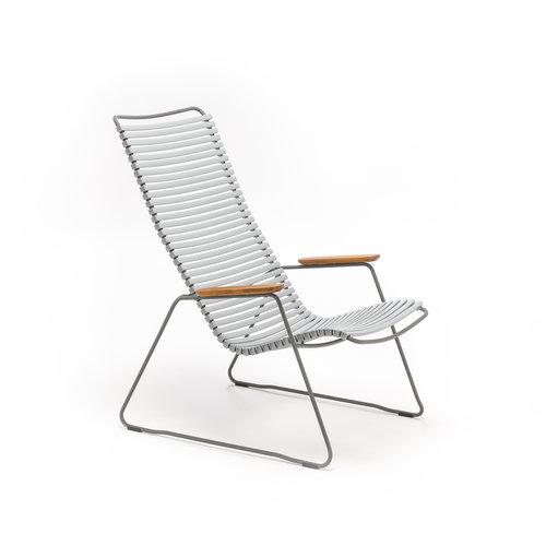 HOUE tuinmeubelen Click loungestoel | Grey