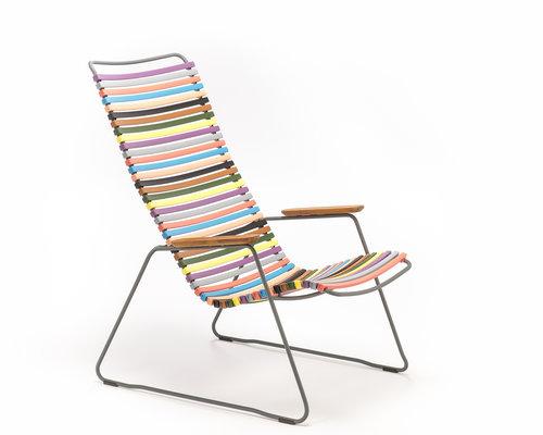 Click loungestoel | Multi Color 1
