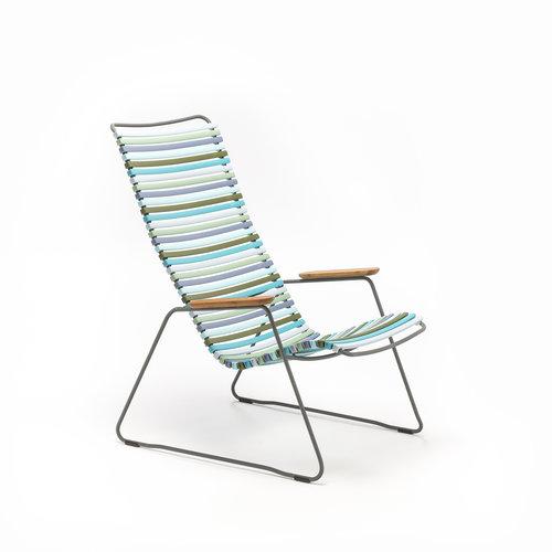HOUE tuinmeubelen Click loungestoel | Multi Color 2