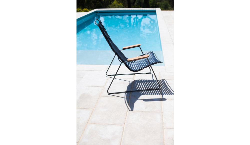 Click loungestoel | Olive Green