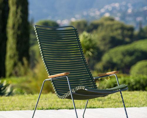 Click loungestoel | Paprika Red