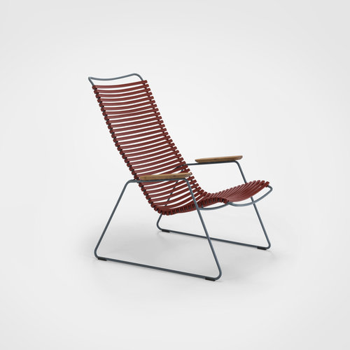 HOUE tuinmeubelen Click loungestoel | Paprika Red